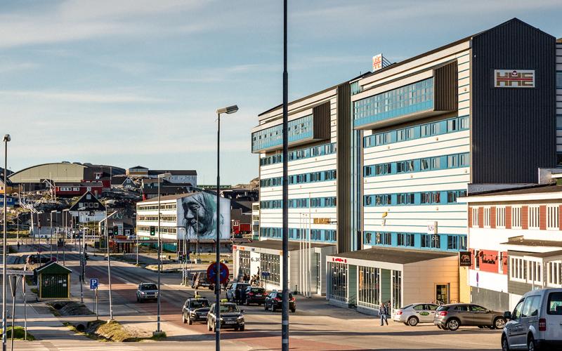 Hotel Hans Egede. Photo by: Daniel Gurrola