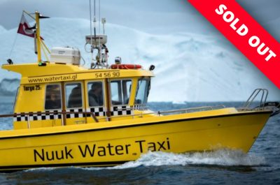 Nuuk Water Taxi. Photo by Mads Pihl.